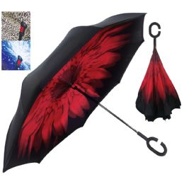 12 of Pride Inverted Umbrella Assorted Designs