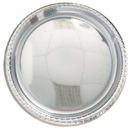 24 of Round Serving Tray 16 Silver