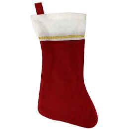 48 of CHRISTMAS STOCKING 17 FELT