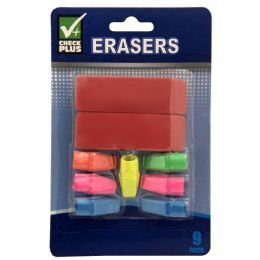 36 of Check Plus Erasers 9 pk