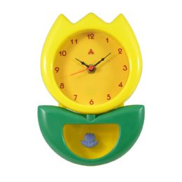 6 of Hanging Clock Flower Style in