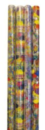 72 of Cello Gift Wrap 12.5 Sq Ft Astd Designs/colors