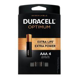 24 of Duracell Optimum Aaa4