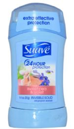 12 of Suave Solid Sweet Pea And Violet 1.4 Oz 24 Hour Protection