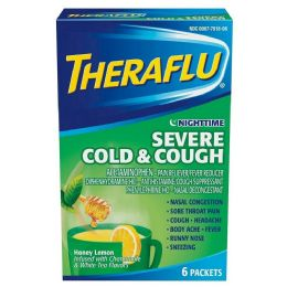 12 of Theraflu Green 6ct Nighttime Severe Cold And Cough