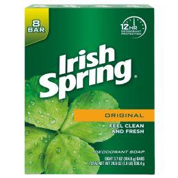 4 of Irish Spring Bar Soap 8 Pk 3.7 Oz Deep Action Scrub
