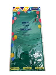 48 of Plastic Table Cover 54x108 Green Hunter