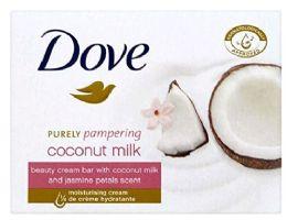 12 of Dove Bar Soap 4 Pk 3.5 Oz Coconut Milk