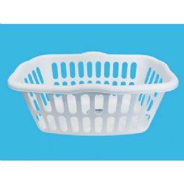 12 of Laundry Basket White/black Assorted 24x17x10