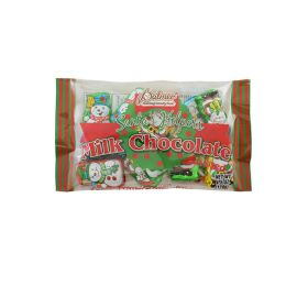 24 of Palmer Milk Chocolate Christmas Santa Helper 4.5 oz