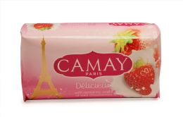 48 of Camay Bar Soap 170 G/6.17 Oz Delicieux