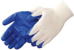 10 of Work Gloves Blue Palm