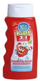 6 of White Rain Kids 3 In 1 Shampoo/conditioner/bodywash Strawberry Splash 12 oz