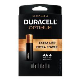 24 of Duracell Optimum Aa4