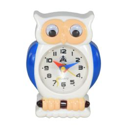 12 of Owl Design Alarm Clock In Box Battery Operated Size 3.5 X 2.5