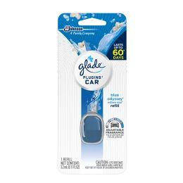6 of Glade Car Blue Odyssey Refill .11 oz