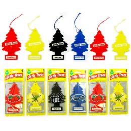 24 of Little Tree Classic Car Freshener Assorted 1's