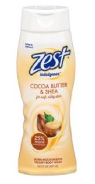 6 of Zest Body Wash 16.5oz Indulgence Coco Butter And Shea