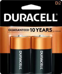 48 of Duracell D 2 Pk Coppertone Batteries