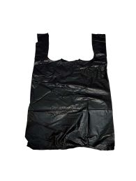 Shopping Bag 1000 Ct 1/8 Size 10x 5.5 X17 Black
