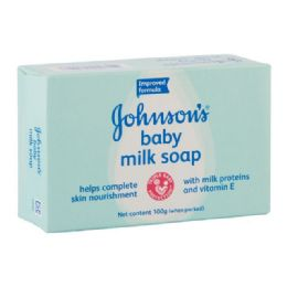 96 of Jandj's Baby Soap Milk 100gm