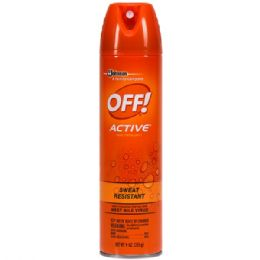 12 of Off 9 Oz Active Insect Repellent Aerosol