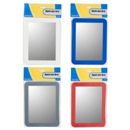 36 of Locker Mirror 5x7in Magnetic Red/grey/cobalt Blue/white