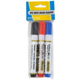 36 of Markers 3pk White Board