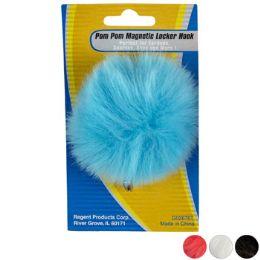 36 of Pom Pom Locker Hook Magnetic 4ast Colors Stat Tcd