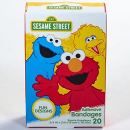 24 of Bandages 20ct Sesame Street