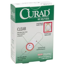 24 of Bandages Curad 30ct Clear