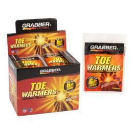 320 of Warmers Toe 2pk Grabber Adhsv 8 - 40pc Display Box 6 Hours