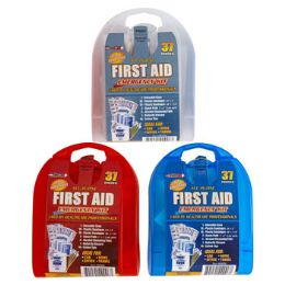 33 of First Aid Kit 37 Pcs In Plastic Case