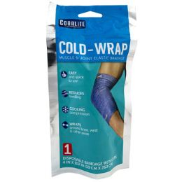 24 of ColD-Wrap Elastic Bandage With Clips Muscle & Joint Coralite