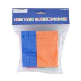 24 of Foam Counting Blocks 50ct