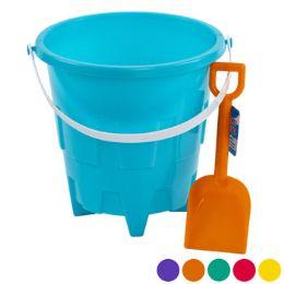 24 of Sand Bucket Plastic 8in W/shovel