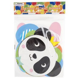 48 of Party Banner Cartoon Animal 62in
