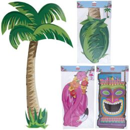 24 of Luau Party Jointed Cutout 3ast