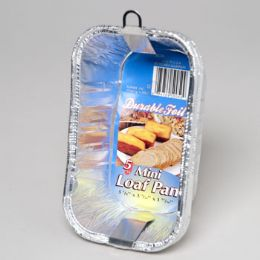 12 of Aluminum Loaf Pan Mini 5 Pack