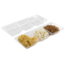 36 of Serving Tray 3-Section 16 X 6 in