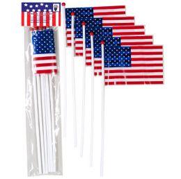 72 of Flag American Mini 5pk Plastic