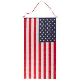 36 of Flag Banner On Dowel W/hanging