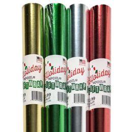 "66 of Gift Wrap Foil Xmas 30 Width"""