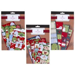 48 of Gift Tag Book Xmas SelF-Stick
