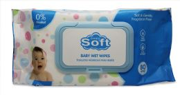 24 of Baby Wipe 80 Ct W/blue Lids