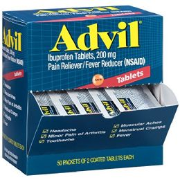 50 of Advil Regular 2pk Box