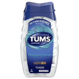 12 of Tums 12 Chewable Tablet Peppermint
