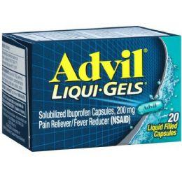 12 of Advil Liqui Gel Caps 12/20's