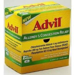 50 of Advil Allergy Congestion 1pk Box
