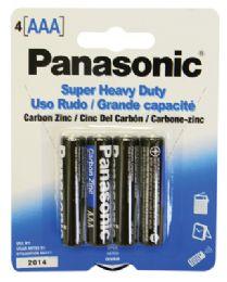 48 of Panasonic Aaa 4 Pk. Battery Super Heavy Duty